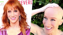 Kathy Griffin Shaves Her Head To Support Sister Fighting