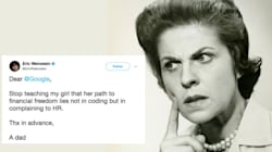 People Respond Perfectly To Man's Sexist Tweet About That Google
