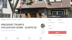 Donald Trump's Childhood Home Is On Airbnb For $917 A