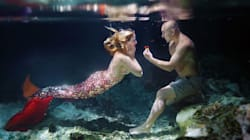 This Guy Proposed To His Mermaid-Obsessed Girlfriend
