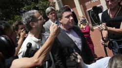 'Unite The Right' Organizer Flees His Press Conference In