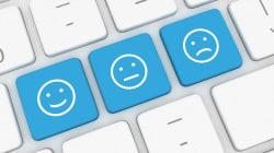 Usar emoticonos en los 'mails' nos hace parecer