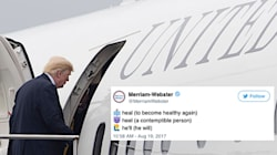 Merriam-Webster Steps In After Trump Tells America To