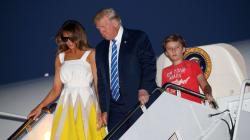 Melania Trump Thanks Chelsea Clinton For Defending Son