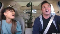 Ariana Grande And Seth MacFarlane Have A 'Carpool Karaoke'