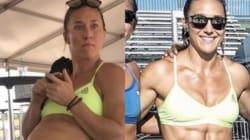 Una atleta de 'crossfit' se mofa de las transformaciones en
