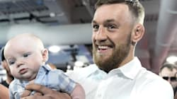 Fighter Conor McGregor's Son Got Suited Up, And It Is Freaking