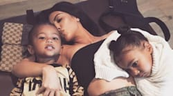 North West Low-Key Hates Her Brother Saint, According To Kim