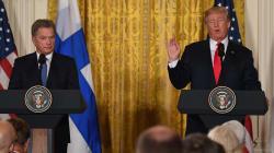 Trump confunde a dos periodistas finlandesas y una responde de manera