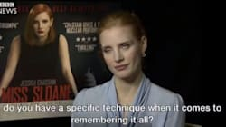 Someone Asked Jessica Chastain About Johnny Depp. Her Eye Roll Said It