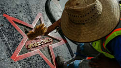 Trump Walk Of Fame Star Vandalized Again, This Time During Pride 'Resist'