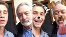 Robert De Niro Is The King Of Snapchat Now. That Is