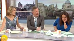 Piers Morgan Complained About People Talking Politics. His Co-Host Had A Spot-On