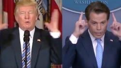 Scaramucci se parece tanto a Trump que la gente cree que es su 'Mini