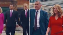 British News Presenters Face-Off In Epic 'Anchorman' Spoof