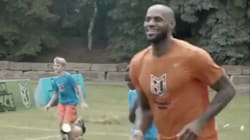 LeBron James Crushed A Bunch Of 10-Year-Olds At His Son's Birthday