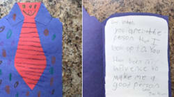 Little Boy Wrote His Older Brother A Heartfelt Card After Their Dad