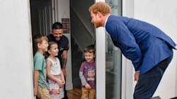 Child Gives Prince Harry Hilarious Order Before Welcoming Him Into Her