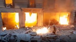 Juste après l'explosion à Paris, un journaliste italien a tourné ces images