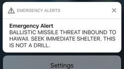 L'employé de l'État qui a envoyé l'alerte au missile à Hawaï pensait que les États-Unis étaient