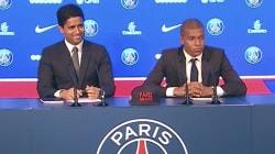 Pendant la présentation de Mbappé, le président du PSG a été très amusé par les questions sur le fair-play