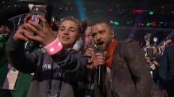 Los memes mexicanos del niño de la selfie con Justin Timberlake en el Super