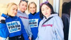 Kim Kardashian, Miley Cyrus y otras celebridades se unen a la Marcha Por Nuestras