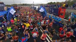 Au Marathon de New York, la foule est venue en masse, et pour le maire c'est