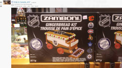 This Zamboni Gingerbread Kit Is Possibly The Most Canadian Thing