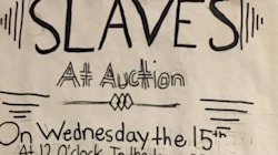U.S. School Apologises For Asking Students To Make Slave Auction