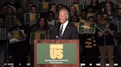 Joe Biden: 'Rape And Sexual Assault Are Not About Sex. They're About