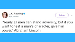 J.K. Rowling Puts Trump's Latest Sexist Tweet Into Chilling