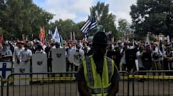 White Supremacists Show Up To A City That Didn't Want Them, Chant 'Blood And