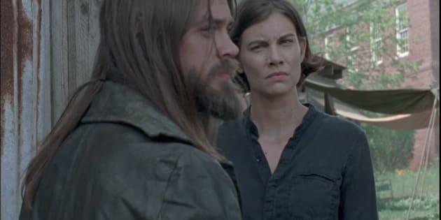 Maggie et Jesus s'expliquent sur le sort des Sauveurs.