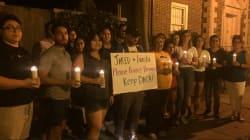 Ils se rassemblent devant la maison d'Ivanka Trump pour protéger les