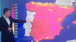 El detalle en este mapa del tiempo de TVE que más cachondeo está