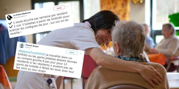 #BalanceTonEhpad, ces témoignages qui reflètent ce que les soignants (et les familles) ne veulent plus voir.