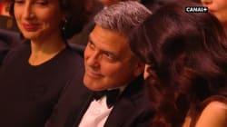 Quand Amal Clooney doit expliquer une blague de Valérie Lemercier à son mari
