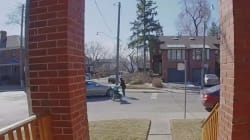 Surveillance Video Shows Stroller-Pushing Toronto Mom Chase Reckless