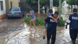 Deja 170 mil damnificados paso de tormenta tropical en