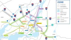 Deux tramways, deux métros et des autoroutes au menu de la