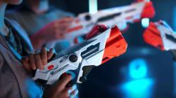 On a testé les pistolets Nerf sans