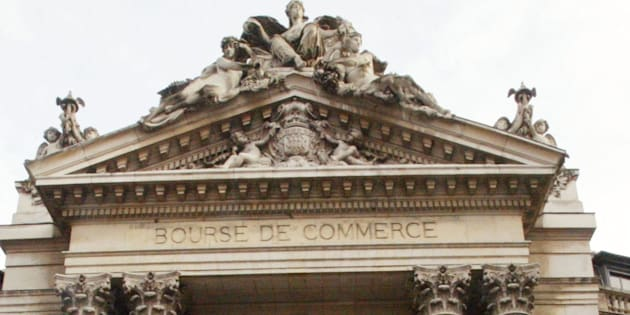 La Bourse de commerce à Paris, siège de la Chambre de commerce et d'industrie, en 2004. AFP PHOTO MEHDI FEDOUACH / AFP PHOTO / MEHDI FEDOUACH