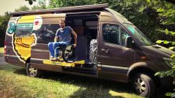 Ce français tétraplégique entame un road trip à travers 16