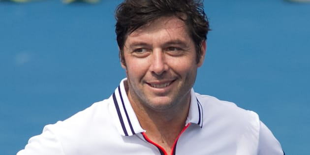 Sébastien Grosjean, nouveau capitaine de l'équipe de France de Coupe Davis.