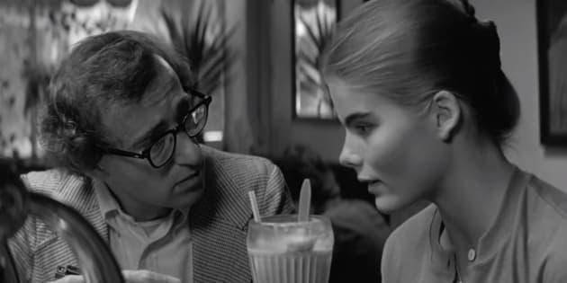 Woody Allen con Mariel Hemingway en una escena de 'Manhattan' (1979)