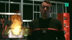 Comment réagir quand il y a le feu chez soi ? La réponse de l'exposition