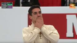 Paloma del Río, al borde de las lágrimas en la despedida de Javier Fernández del
