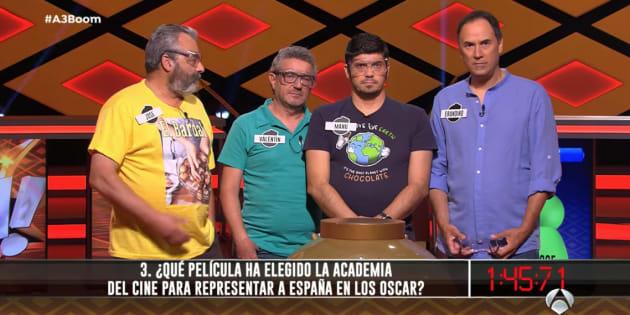 Antena 3 confirma que el miércoles los lobos ganarán el ansiado bote de ´´Boom´´