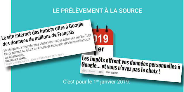 La réponse de impots.gouv.fr à la polémique autour de sa vidéo sur le prélèvement à la source hébergée par Youtube